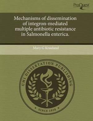 Mechanisms of Dissemination of Integron-Mediated Multiple Antibiotic Resistance in Salmonella Enterica