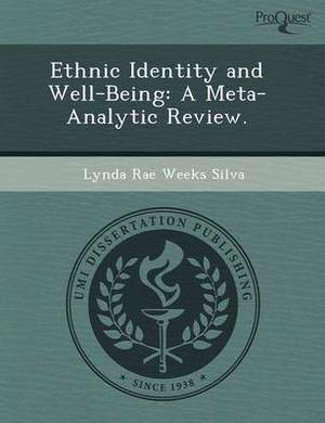 Ethnic Identity and Well-Being: A Meta-Analytic Review