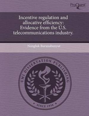 Incentive Regulation and Allocative Efficiency: Evidence from the U.S