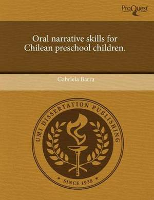 Oral Narrative Skills for Chilean Preschool Children