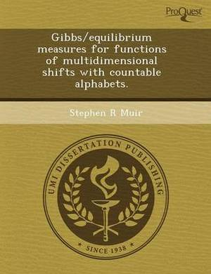 Gibbs/Equilibrium Measures for Functions of Multidimensional Shifts with Countable Alphabets