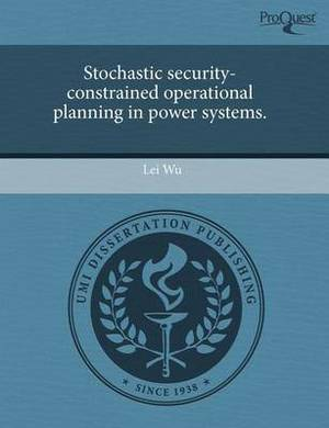Stochastic Security-Constrained Operational Planning in Power Systems
