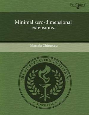 Minimal Zero-Dimensional Extensions