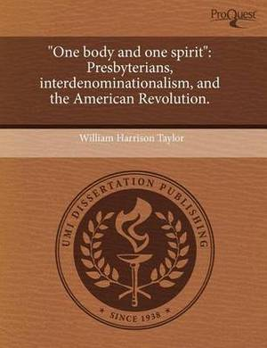 One Body and One Spirit: Presbyterians