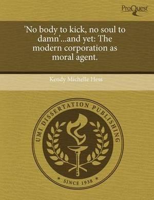 'No Body to Kick