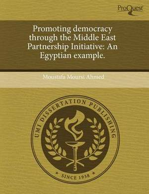 Promoting Democracy Through the Middle East Partnership Initiative: An Egyptian Example