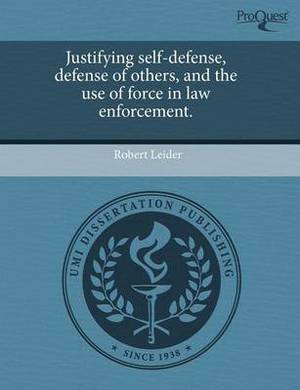Justifying Self-Defense