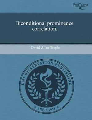 Biconditional Prominence Correlation