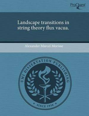 Landscape Transitions in String Theory Flux Vacua