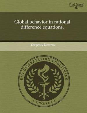Global Behavior in Rational Difference Equations
