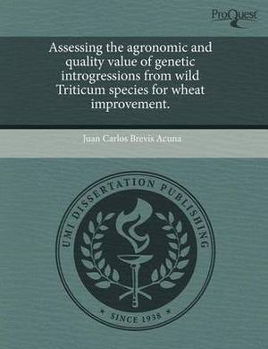Assessing the Agronomic and Quality Value of Genetic Introgressions from Wild Triticum Species for Wheat Improvement