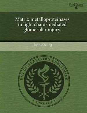 Matrix Metalloproteinases in Light Chain-Mediated Glomerular Injury