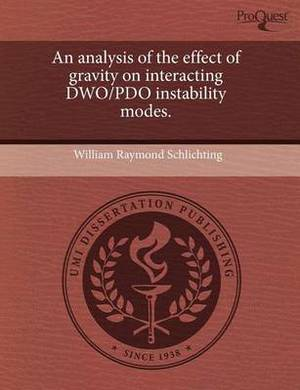 An Analysis of the Effect of Gravity on Interacting Dwo/Pdo Instability Modes