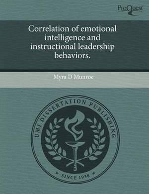 Correlation of Emotional Intelligence and Instructional Leadership Behaviors