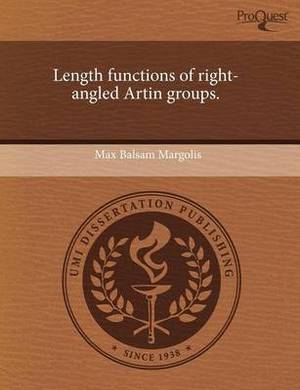 Length Functions of Right-Angled Artin Groups