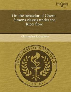 On the Behavior of Chern-Simons Classes Under the Ricci Flow