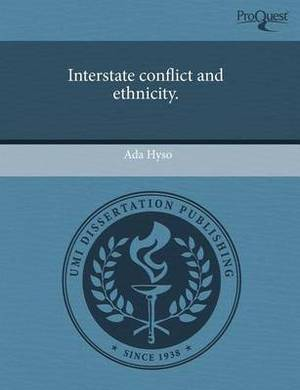 Interstate Conflict and Ethnicity