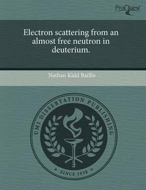 Electron Scattering from an Almost Free Neutron in Deuterium