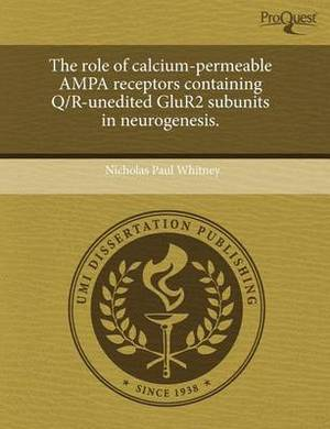 The Role of Calcium-Permeable Ampa Receptors Containing Q/R-Unedited Glur2 Subunits in Neurogenesis