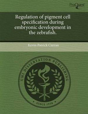 Regulation of Pigment Cell Specification During Embryonic Development in the Zebrafish