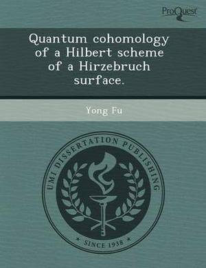 Quantum Cohomology of a Hilbert Scheme of a Hirzebruch Surface
