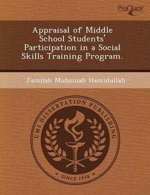 Appraisal of Middle School Students' Participation in a Social Skills Training Program
