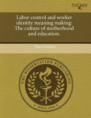 Labor Control and Worker Identity Meaning Making: The Culture of Motherhood and Education