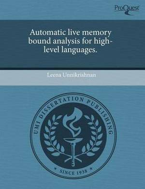 Automatic Live Memory Bound Analysis for High-Level Languages