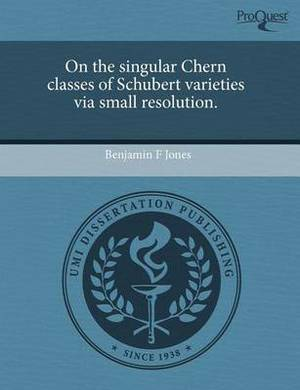 On the Singular Chern Classes of Schubert Varieties Via Small Resolution