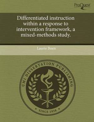 Differentiated Instruction Within a Response to Intervention Framework