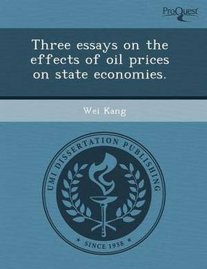 Three Essays on the Effects of Oil Prices on State Economies