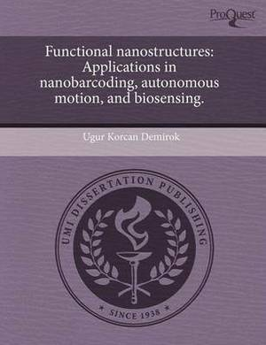 Functional Nanostructures: Applications in Nanobarcoding