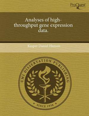 Analyses of High-Throughput Gene Expression Data.