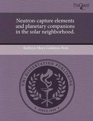 Neutron-Capture Elements and Planetary Companions in the Solar Neighborhood.