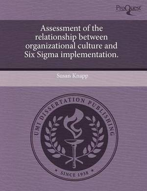 Assessment of the Relationship Between Organizational Culture and Six SIGMA Implementation
