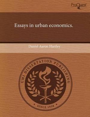 Essays in Urban Economics