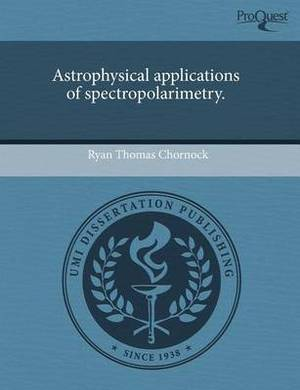 Astrophysical Applications of Spectropolarimetry.