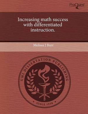 Increasing Math Success with Differentiated Instruction