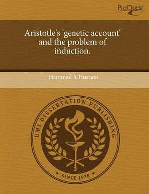 Aristotle's 'Genetic Account' and the Problem of Induction