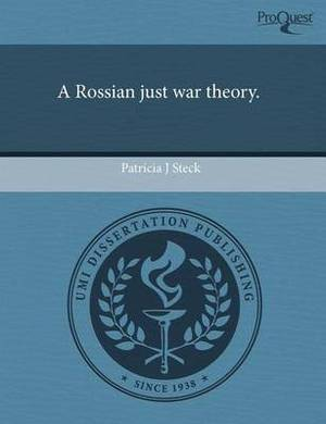 A Rossian Just War Theory