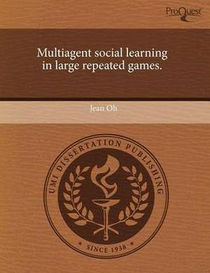 Multiagent Social Learning in Large Repeated Games