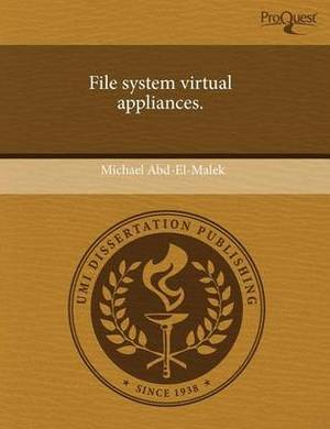 File System Virtual Appliances