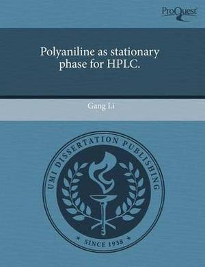 Polyaniline as Stationary Phase for HPLC