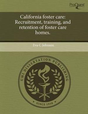 California Foster Care: Recruitment