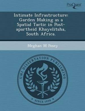 Intimate Infrastructure: Garden Making as a Spatial Tactic in Post-Apartheid Khayelitsha
