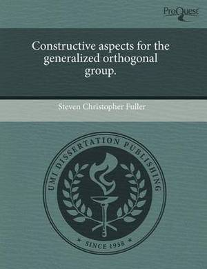 Constructive Aspects for the Generalized Orthogonal Group
