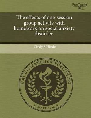 The Effects of One-Session Group Activity with Homework on Social Anxiety Disorder