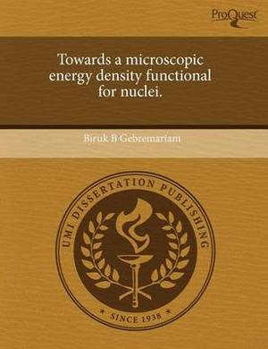 Towards a Microscopic Energy Density Functional for Nuclei