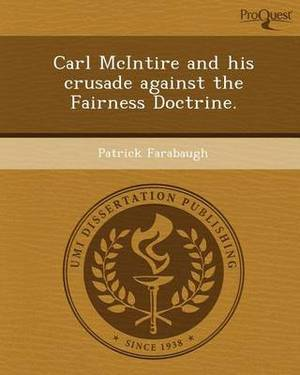 Carl McIntire and His Crusade Against the Fairness Doctrine