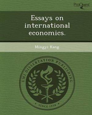 Essays on International Economics